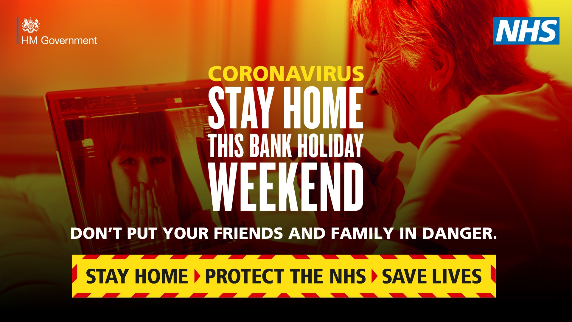 Stay Home this Bank Holiday Weekend
